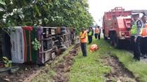 Bus Lorena Kecelakaan di Tol Merak, 1 Orang Tewas
