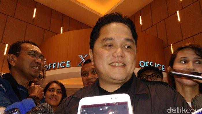 Menteri BUMN Erick Thohir/Foto: Erick Thohir (Adhi/detikcom)