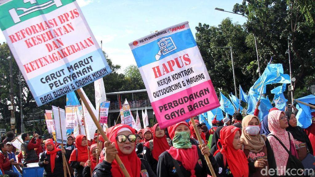 Buruh Desak Pemerintah Segera Revisi Aturan Upah