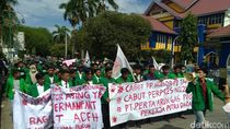 May Day di Aceh, Mahasiswa Minta Perusahaan Prioritaskan Buruh Lokal