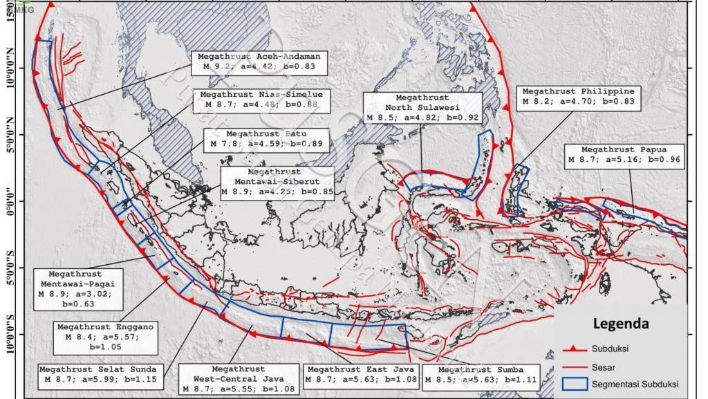 BMKG: Gempa M 6,1 Simeulue Aceh Dipicu Gerakan yang Jadi Ciri Megathrust