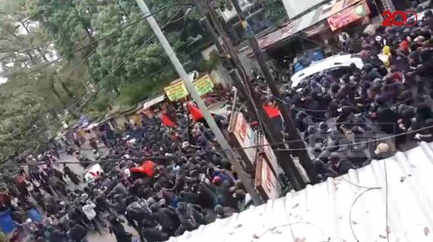 Aksi May Day di Bandung /