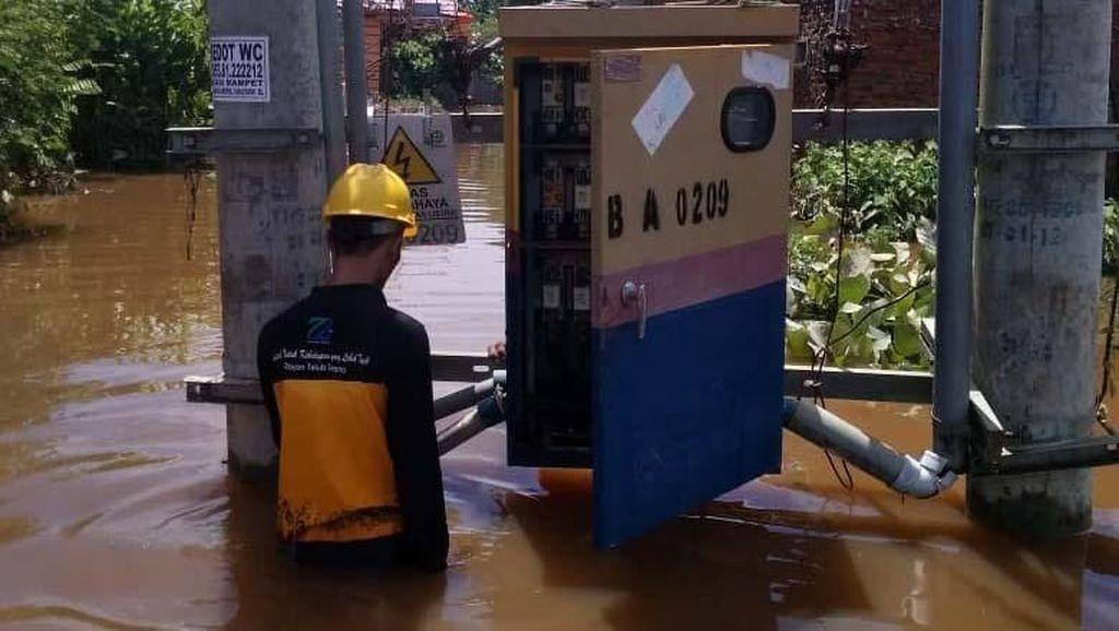 Mengintip Perbaikan Listrik di Bengkulu Pasca Banjir