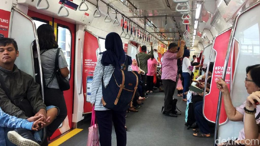 Tarif Normal MRT Jakarta Mulai Berlaku 13 Mei