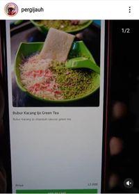 Kasihan! Netizen Jajan Bubur Kacang Ijo Green Tea yang Tak Sesuai Ekspektasi