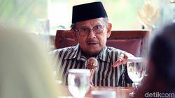 Jenguk BJ Habibie, Ketua Dewan Pers M Nuh: Prosesnya Positif, Bagus