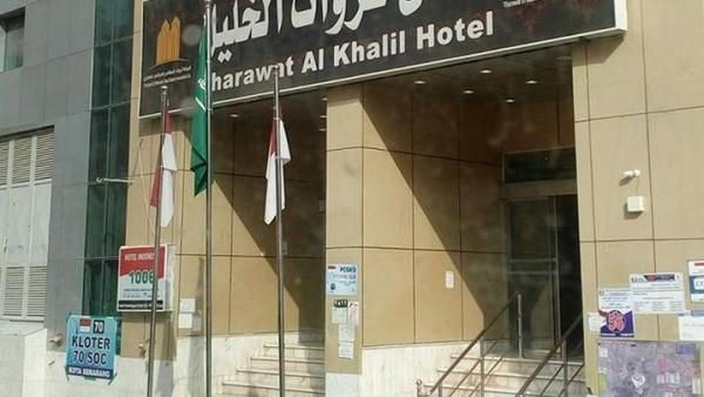 Potret Bagian Depan Hotel untuk Jamaah Haji di 2018