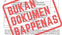 Bappenas Klarifikasi soal Dokumen Pindah Ibu Kota dan Tim Nawa Cipta