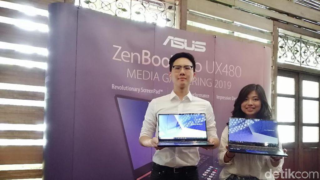 Laptop Layar Ganda Asus Dijual Rp 27 Juta