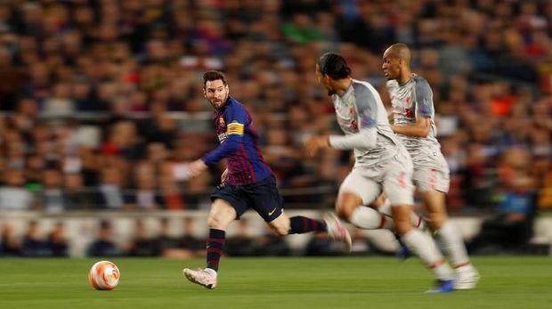 Dibekuk Messi, Van Dijk Bersyukur Tak Bermain di Liga Spanyol