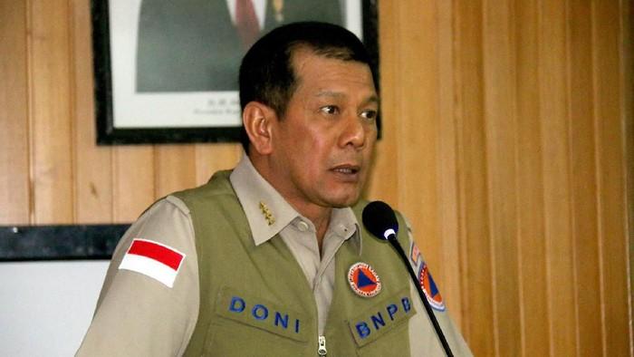 Kepala Badan Nasional Penanggulangan Bencana (BNPB), Letjen TNI Doni Monardo di UGM, Kamis (2/5/2019).
