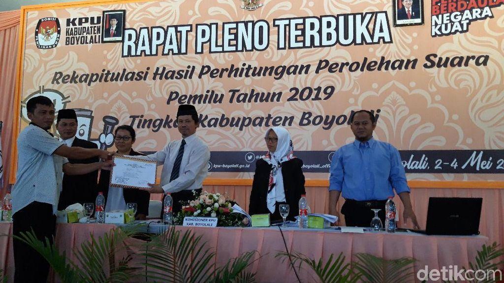 KPU Boyolali Targetkan Rekapitulasi Selesai 3 Hari