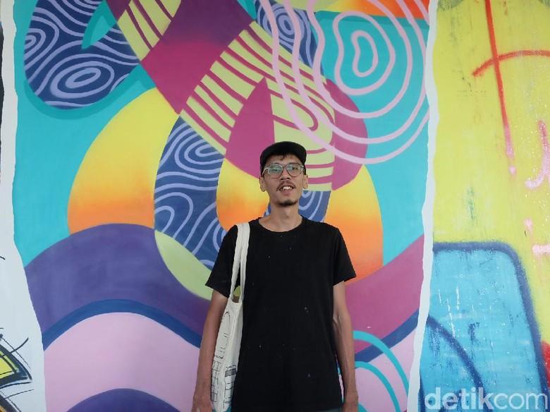 Cerita Stereoflow Bikin Mural di Tembok Gedung Setinggi 30 Meter
