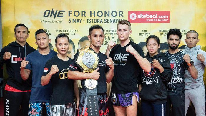 ONE Championship Jakarta digelar besok malam di Istora (dok.ONE Championship)