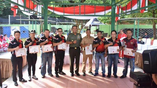 Ketum PB Perbakin Sambut Atlit Berprestasi di Kejuaraan Menembak di Malaysia