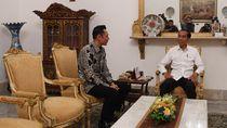 Seskab: Pertemuan Jokowi dan AHY Samakan Persepsi Soal Hitung Cepat Pilpres