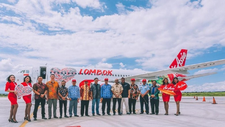 Peresmian Hub dan Livery AirAsia di Lombok (dok. AirAsia)