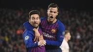 Selebrasi Gol Messi untuk Bela Coutinho