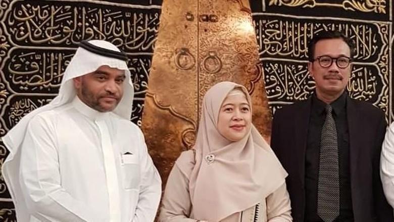 Saudi Beri Akses Khusus ke Menko Puan: Saksikan Pembuatan Kiswah