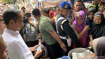 Sebelum Temui AHY di Istana, Jokowi Sempat Belanja Bandeng di Karanganyar