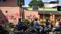 Jejak Vandalisme Massa Hitam-hitam di Aksi May Day Bandung
