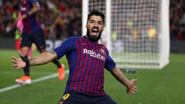 Luis Suarez bisa menjadi ancaman Lionel Messi.