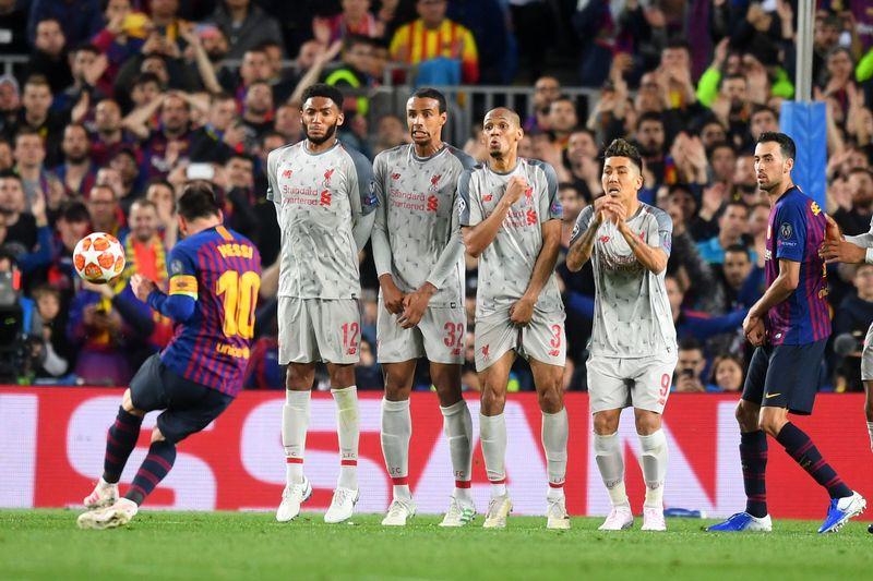 Liverpool menjalani pertandingan away Semifinal Liga Cahmpions leg 1 menghadapi Barcelona, Kamis (2/5) dinihari kemarin. Barcelona terlalu perkasa, Messi tampil istimewa dan menghancurkan Liverpool 3-0 (Michael Regan/Getty Images)
