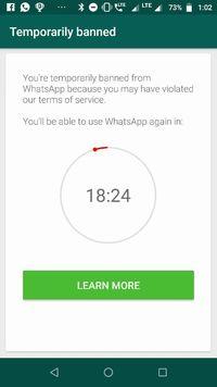Pengguna GBWhatsApp dan WhatsApp Plus Mulai Kena Blokir