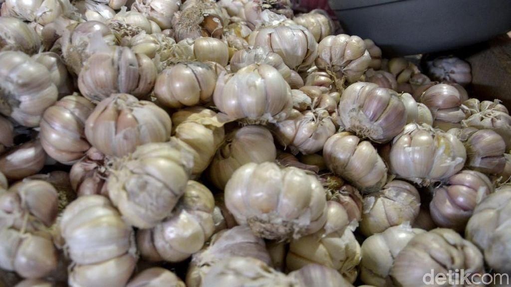 Impor Bawang Putih Naik 57%, Paling Banyak dari China