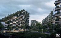 Rencana gedung (Stefano Boeri Architetti)