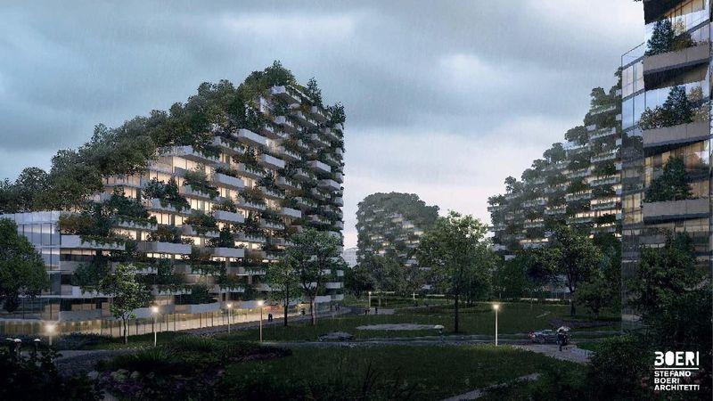 China akan membuat Kota Hutan berlokasi di bagian selatan, yakni Liuzhou. Kota juga akan diberikan nama Liuzhou Forest City (Stefano Boeri Architetti)