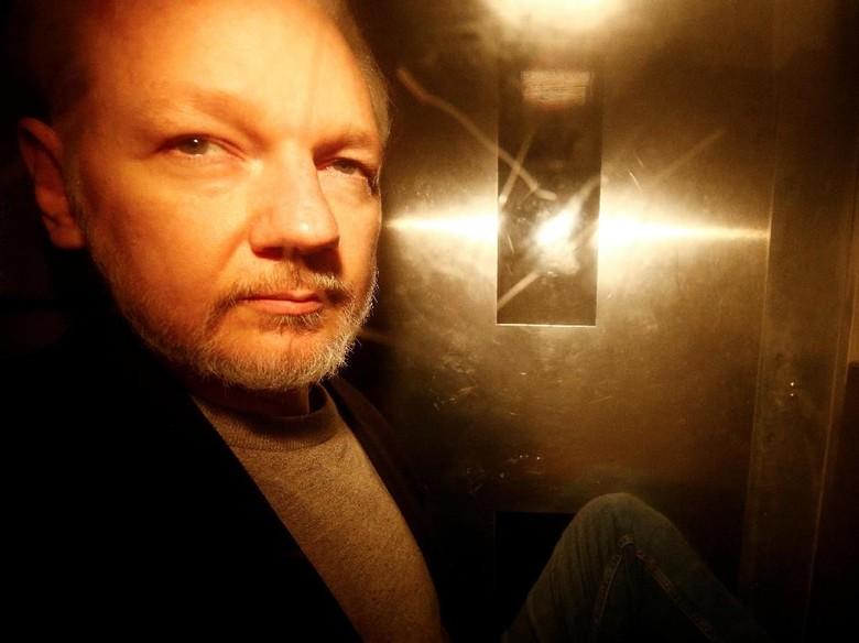 Julian Assange Tegaskan Tak Mau Diekstradisi ke AS