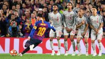 Kata Ilmuwan, Teknik Free-Kick Messi Mirip dengan Tembakan Curry