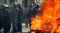 Aksi May Day di Prancis Ricuh, Puluhan Orang Diamankan