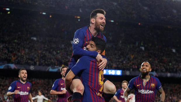 Lionel Messi dan Luis Suarez merupakan mesin gol Barcelona dalam beberapa musim terakhir.