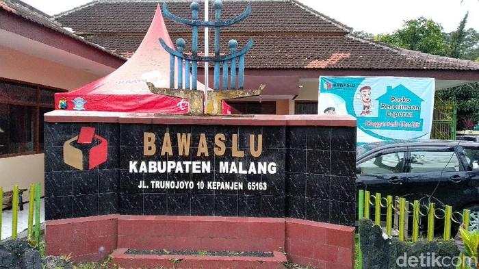 Kantor Bawaslu Kabupaten Malang/Foto: Muhammad Aminudin