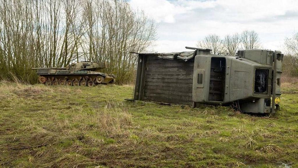 Penampakan Pemakaman Kendaraan Perang di Dunia