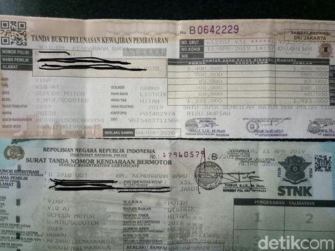 Pajak Motor listrik Jakarta
