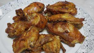 Ayam Goreng Bumbu Kuning Gurih Bisa Dibuat dengan Cara Praktis Ini
