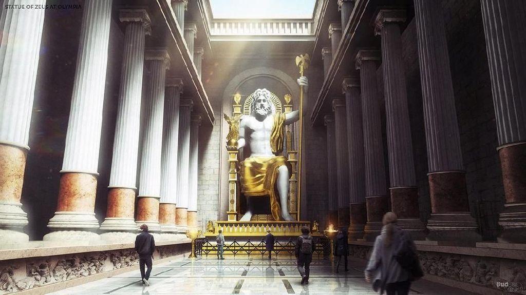 Megahnya Keajaiban Dunia Kuno Jika Eksis Saat Ini