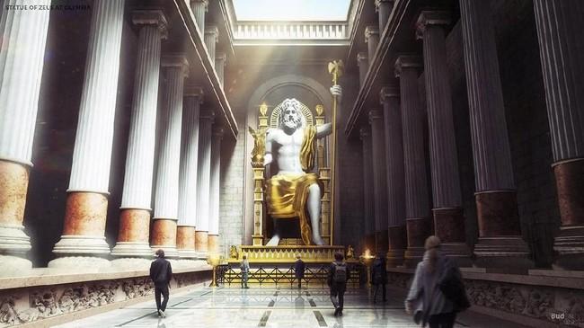 Megahnya 7 Keajaiban Dunia Kuno Hasil Render Tiga Dimensi