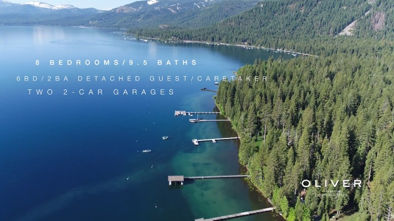 Ini adalah lokasi rumah baru Zuckerberg yang terdiri dari dua properti. Letaknya di danau Tahoe, tempat wisata tenar di California. Foto: istimewa