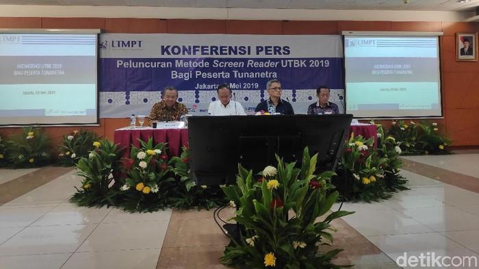 Konferensi pers di Kemenristek Dikti (Foto: Matius Alfons/detikcom)