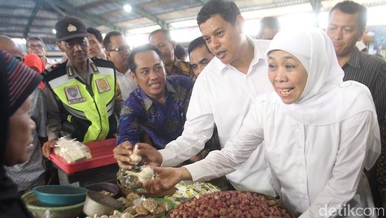 Pemprov Jatim Gelontor 1,2 Ton Bawang Putih Murah di 3 Titik Kota Kediri