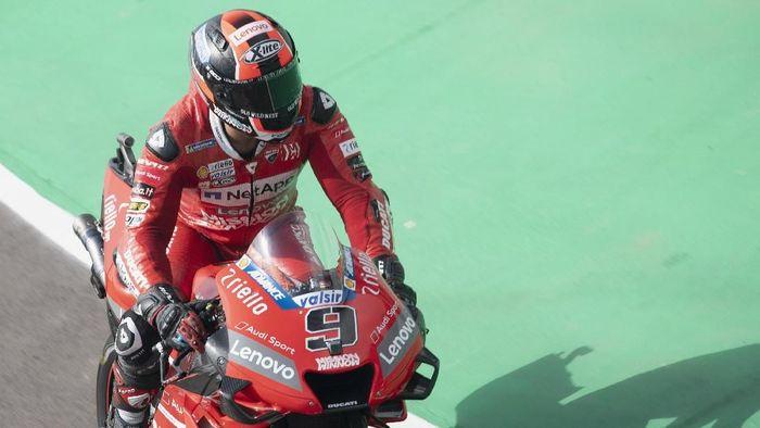 Danilo Petrucci menargetkan podium di MotoGP Catalunya (Foto: Mirco Lazzari gp/Getty Images)