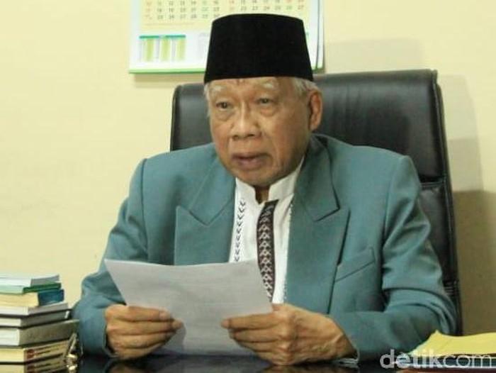 Ketua MUI Jatim KH Abdusshomad Buchori (Hilda Meilisa Rinanda/detikcom)