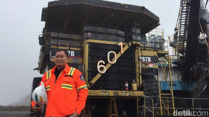 Foto: Menteri ESDM di Tambang Freeport (Angga Aliya ZRF Firdaus/detikFinance)