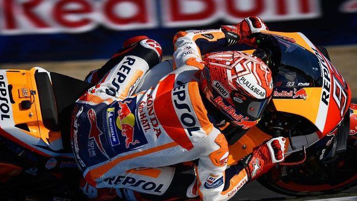 34Marc Marquez tercepat di sesi latihan bebas pertama MotoGP Spanyol (Instagram @MotoGP)