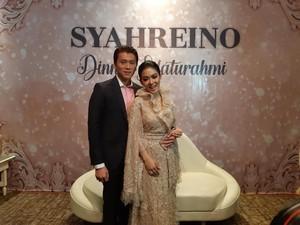 Resepsi di Jakarta, Ini Penampilan Syahrini Pakai Gaun Sebastian Gunawan