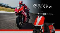 Wah Ducati Bikin Skuter Listrik Bareng Pabrikan China